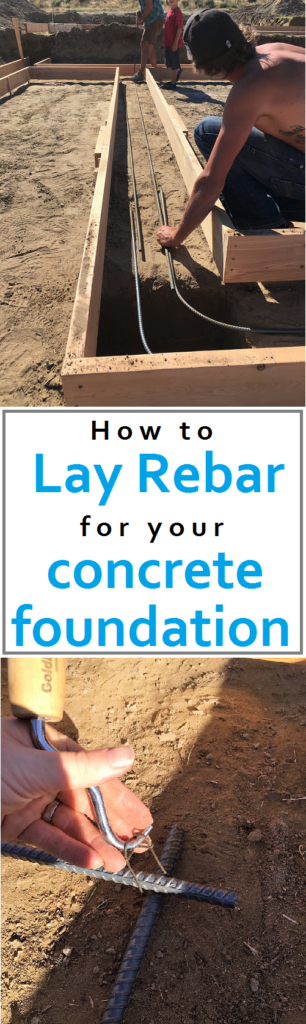 How To Lay Rebar For Your Concrete Foundation Cost And Time Outline How To Build Your Own House Build Your Own House Concrete Shed Plans