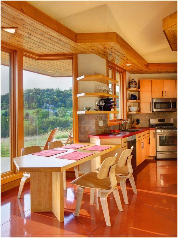 Ruang Makan Dan Dapur Mewah