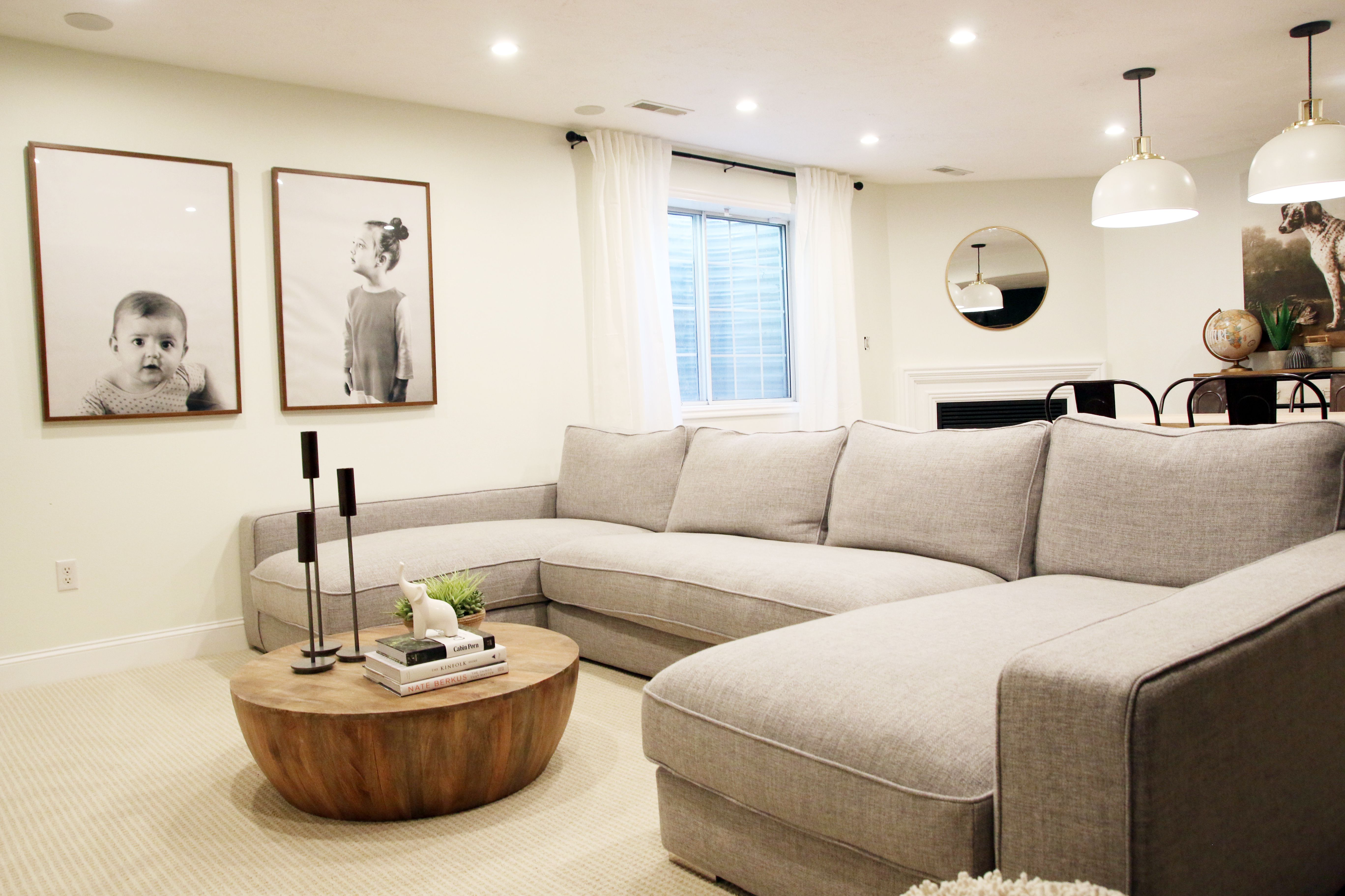 Our New Sectional From Interior Define Home Living Room Home Family Room