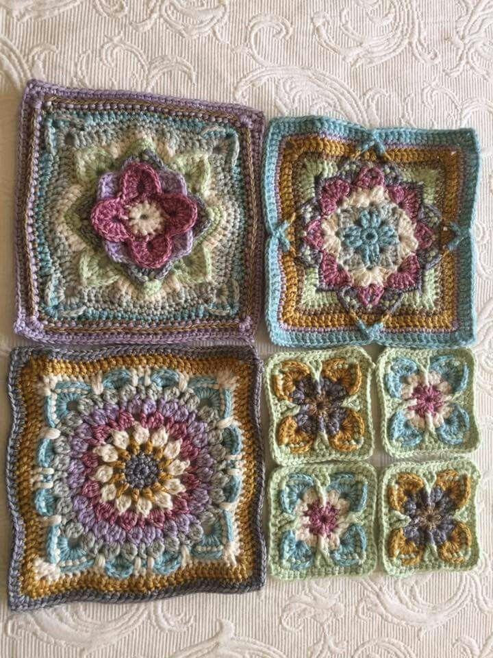 These colors are wonderful!   Crocheting   Pinterest   Häkeln ...