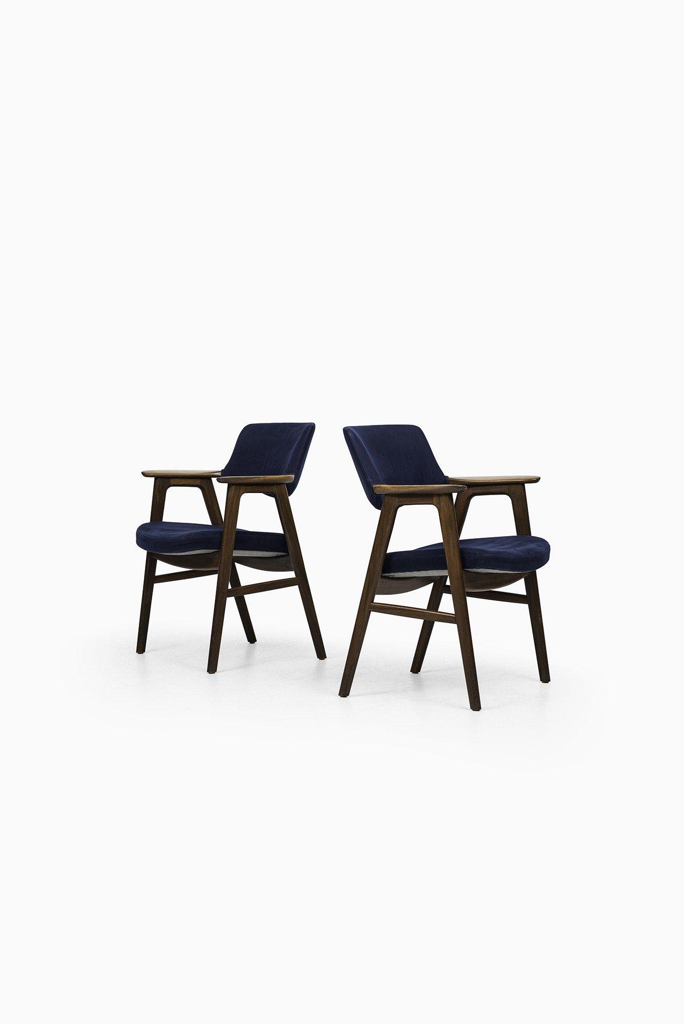 Erik Kirkegaard armchairs in mahogany at Studio Schalling