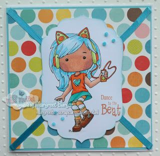 Margreet's scrapcards: Dance to the beat with Tanzen