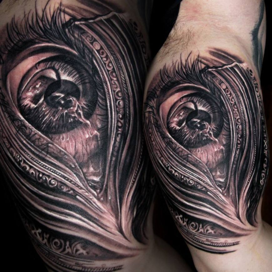 Tony Mancia's Tattoos, Striking Realistic and Surrealistic