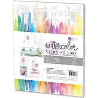 Prima Marketing Prima Marketing Watercolor Coloring Book 8