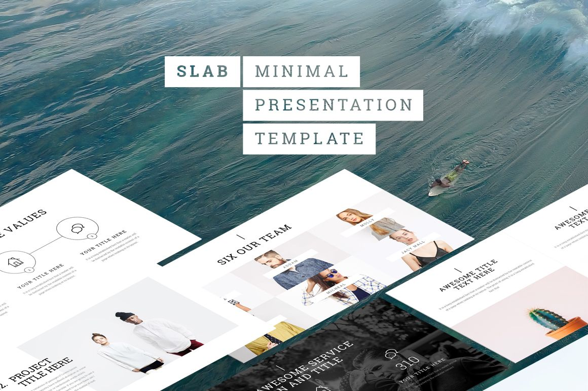 Check Out This Behance Project SlabPresentation Template