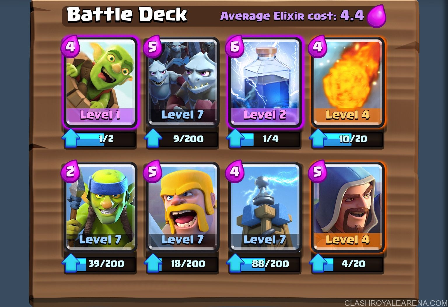 Push To 2300 Trophies At Level 7 Clash Royale Guides Clash Royale Deck Clash Royale Deck