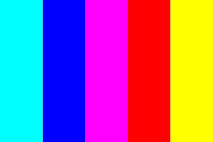 Inverted Rainbow Color Palette Colorpalettes Colorschemes