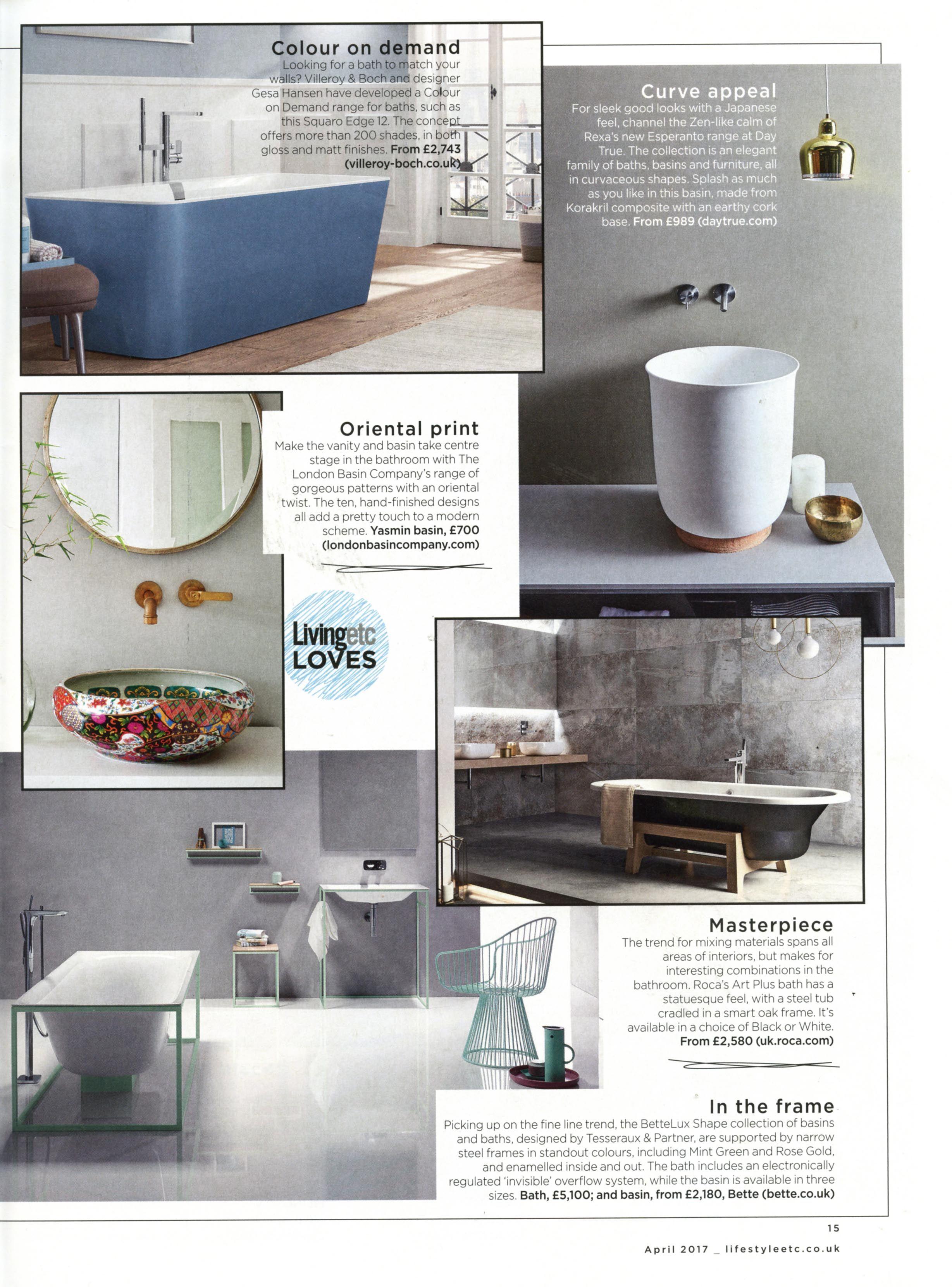 the beautiful yasmin basin from the london basin company. http