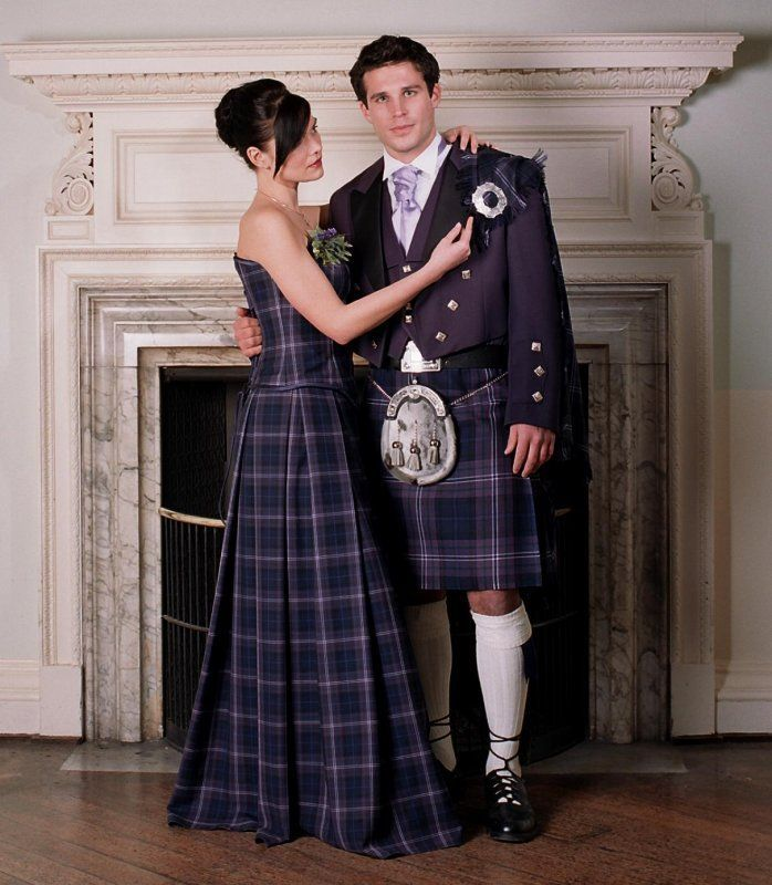 Tartan Wedding Gown Isla Ideas Scottish Patterned And Inspirations