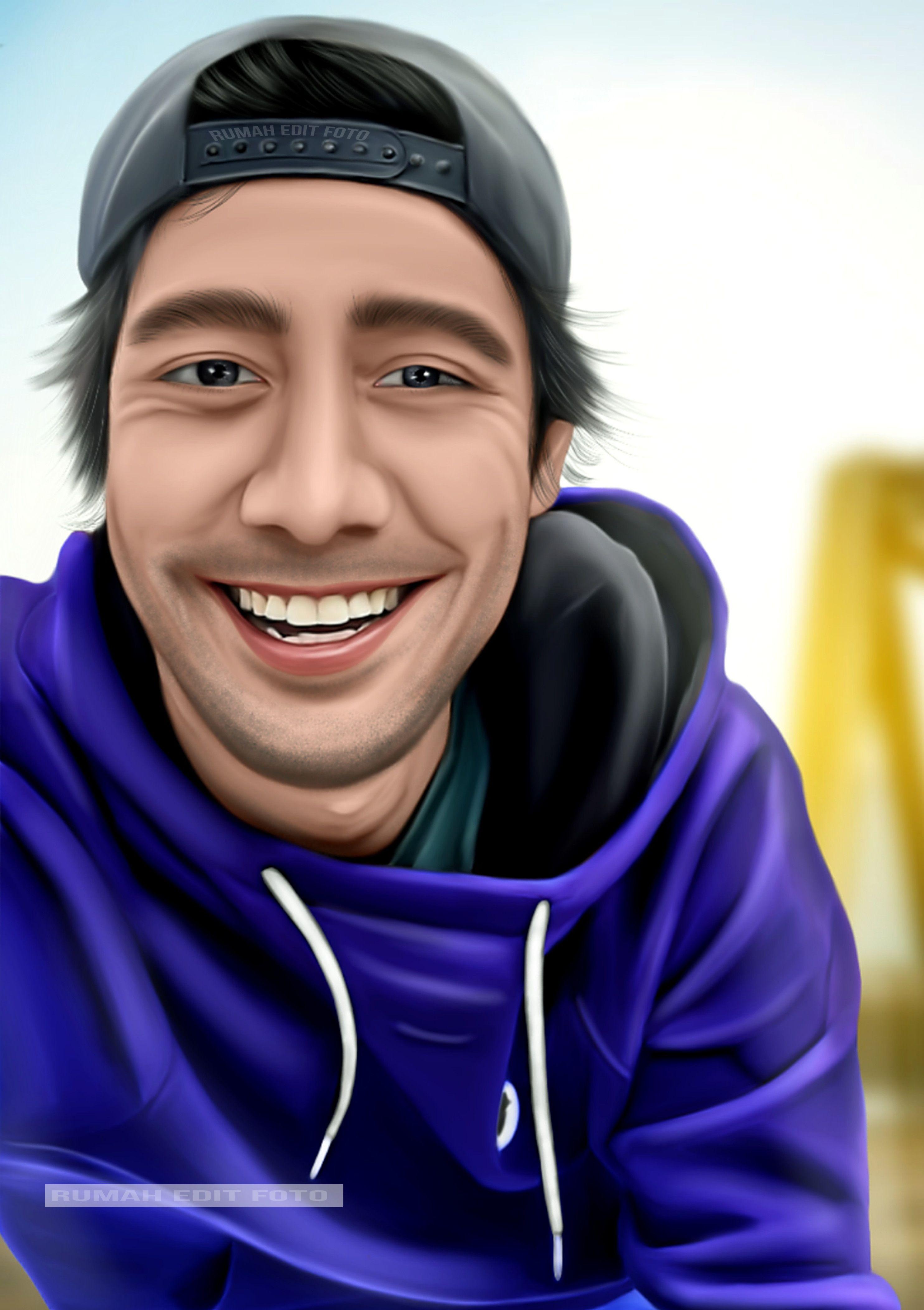 Edit foto kartun keren dengan android Kartun, Pengeditan