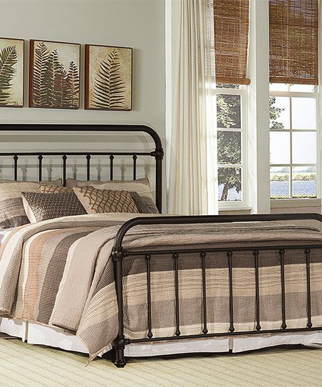 $350 Kirkland Bronze Iron Bed Frame Set In Queen Size | Mi Casa | Pinterest  | Bed Sets, Queen Size And Bed Frames