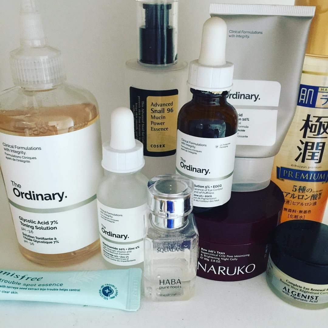 Night routine for acne and aging skin FaceCare30S