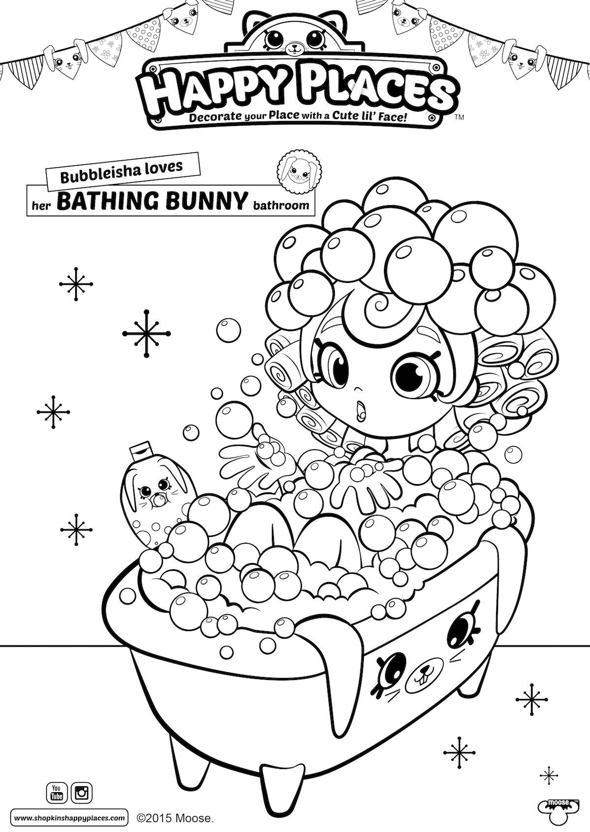 Happy Places Prints Download Happy Places Colouring Pages Games Door Hangers Shopkin Coloring Pages Shopkins Colouring Pages Disney Princess Coloring Pages