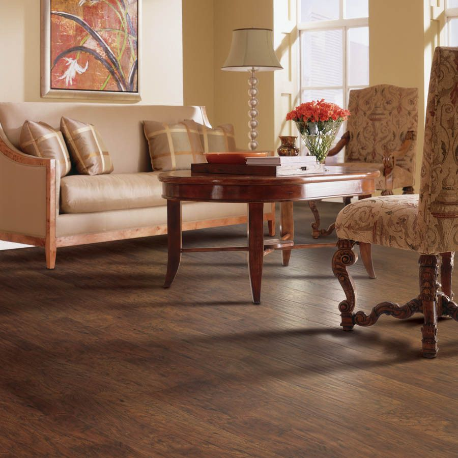 Shop allen + roth 4.87in W x 47.25in L Marcona Hickory