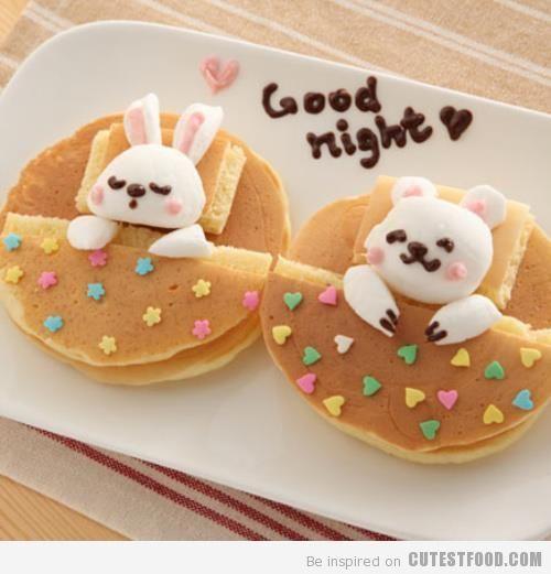 Good Night Pancakes!! Adorable!!