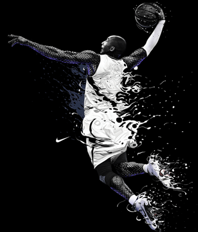 best service a4358 237be Kobe Bryant Nike Ad by Chris Vector