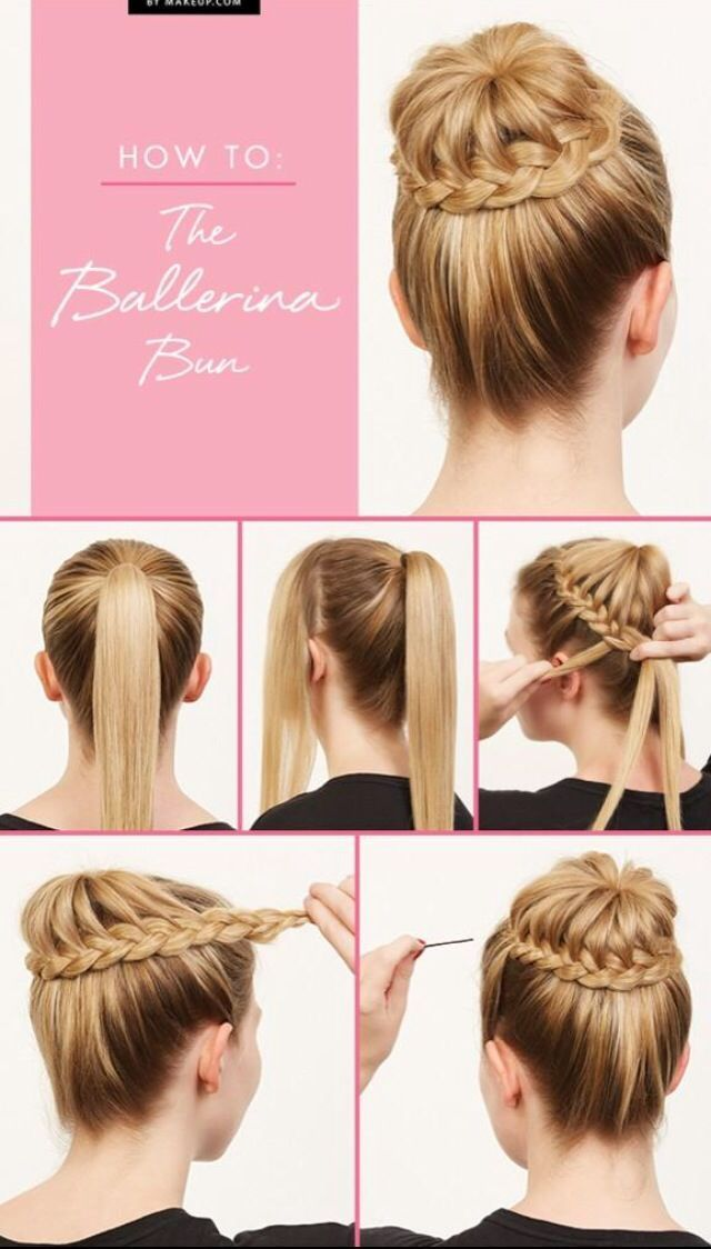 Geflochtene Haare Ballerina Hair Styles Braided Hairstyles Updo Long Hair Styles