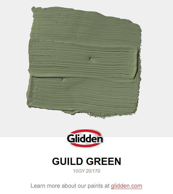Guild Green #indoorpaintcolors