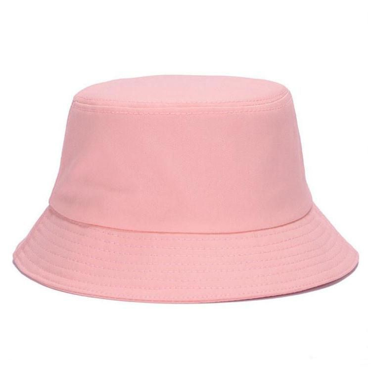0128fad2e3b  AETRENDS  10 Colors !! Solid Color Bucket Hats for Men Panama Women Hat  Z-1570