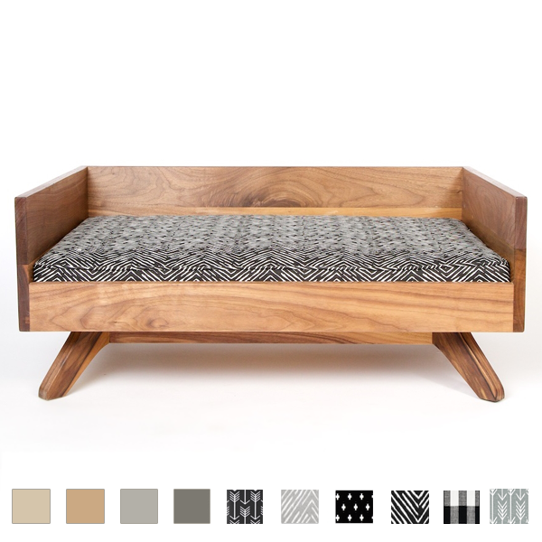 DISCONTINUED Joey High Back Dog Bed Dog bed luxury, Wood