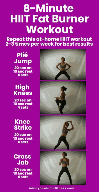The At Home HIIT Workout You Should Be Doing #fitness #exercises
