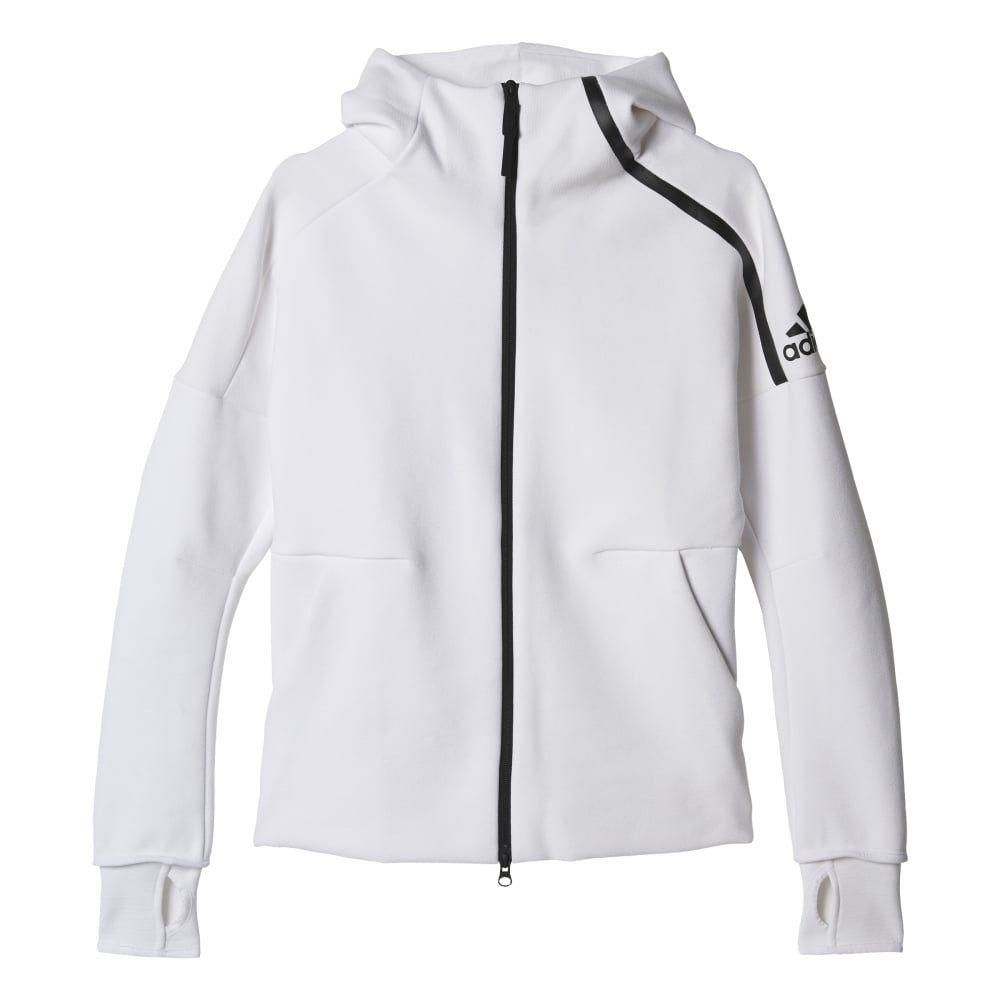 Adidas Womens Z.N.E. Hoodie   FASHION   Sports hoodies