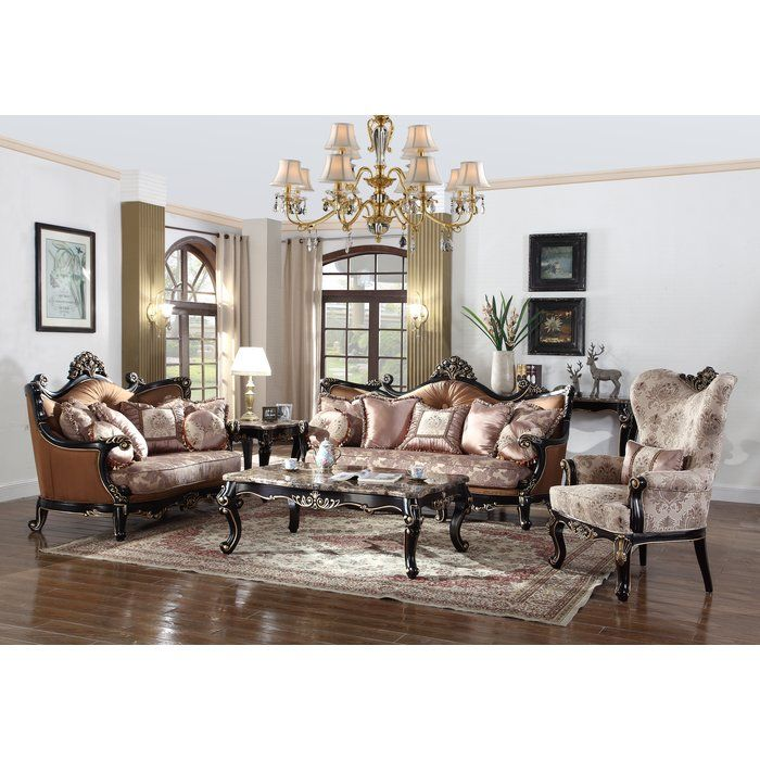 You'll Love The Traditional 3 Piece Living Room Set At