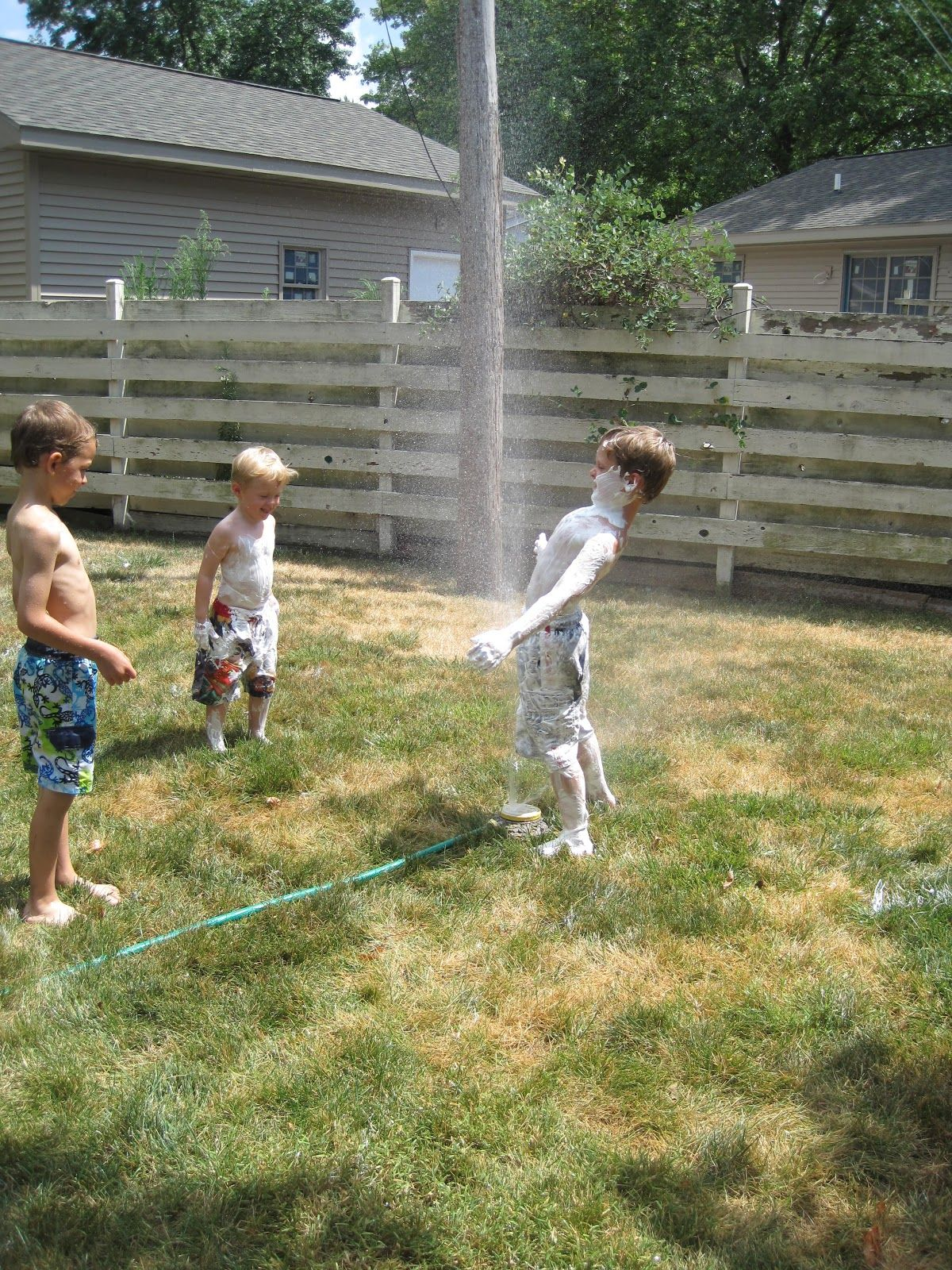 allergy friendly backyard water party best water party and