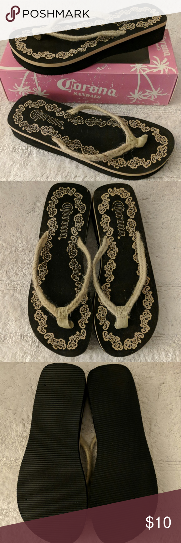 37edda520e5ab Corona thong sandals women s 7 8 Corona thong sandals women s size 7 8.