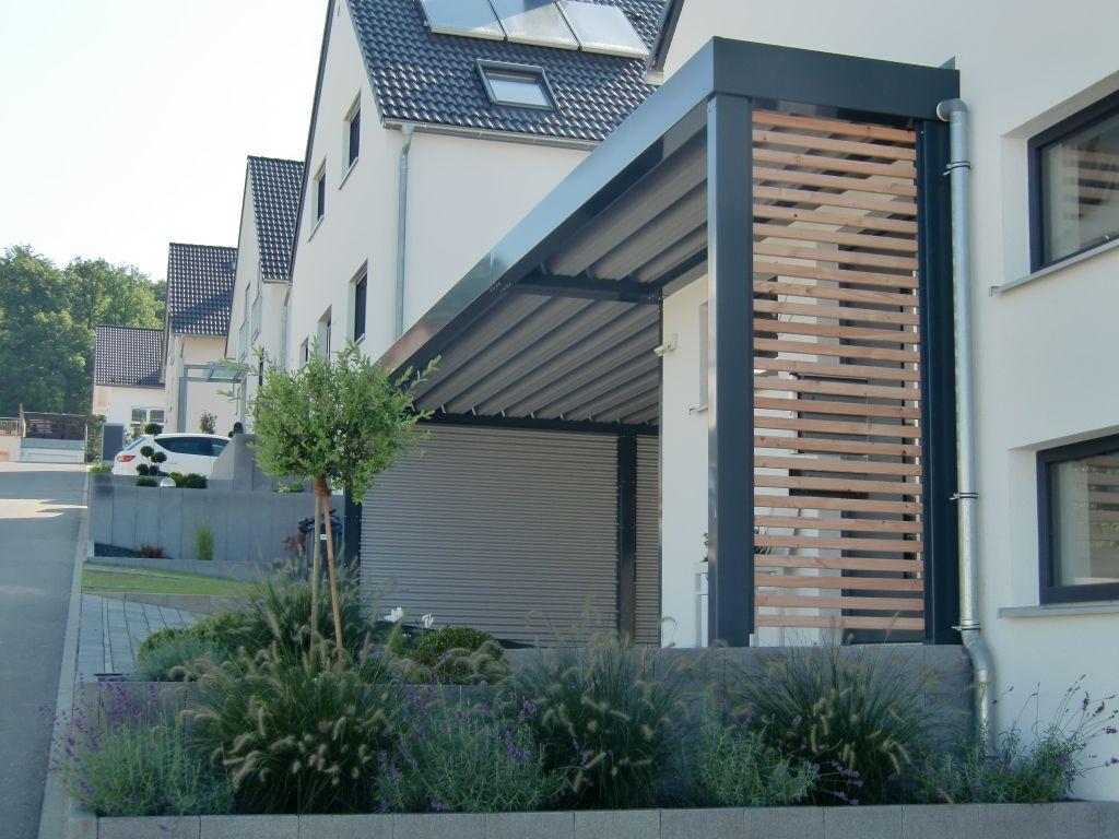 Doppel Carport Mit Hauseingangsuberdachung Und Gerateraum Hinten News In 2020 Eingang Uberdachung Hauseingang Gestalten Eingang