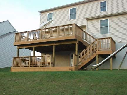 The Complete Guide About Multi Level Decks With 27 Design Ideas Deck Design Deck Stairs