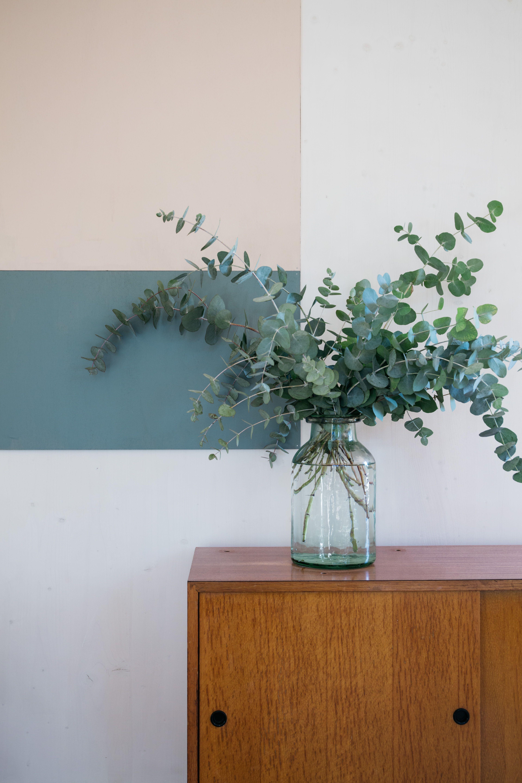 grand vase en verre le rep re des belettes garden. Black Bedroom Furniture Sets. Home Design Ideas