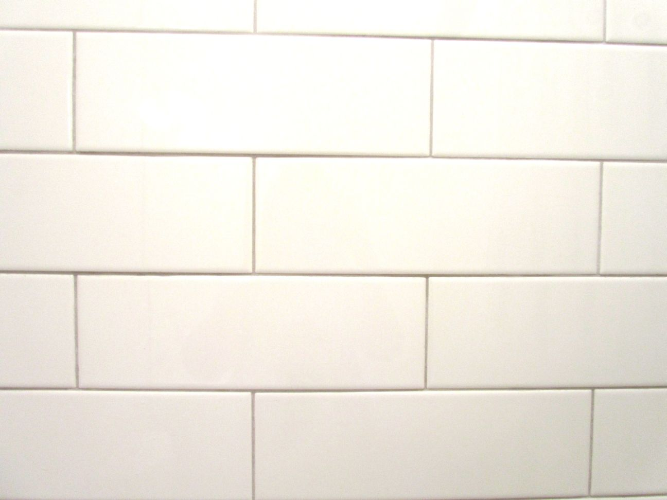Shower Tile Grout Daltile 4x12 Biscuit Mapei 01 Alabaster Subway