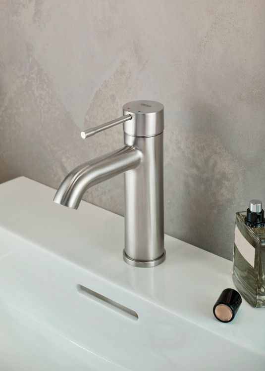 Grohe Essence Servantarmatur Supersteel Megaflis No Armaturen Armaturen Bad Badarmaturen