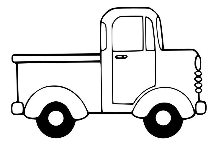 The Road To Success Truck Coloring Pages Little Blue Trucks