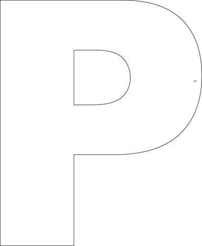 Free printable upper case alphabet template free printable free printable upper case alphabet template spiritdancerdesigns Image collections