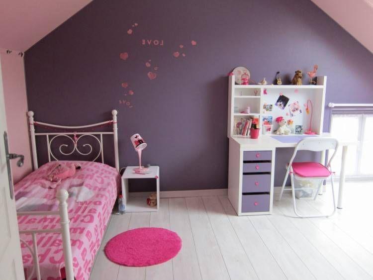 Chambre ŕ Coucher Petite Fille Deco Petite Chambre Chambre A
