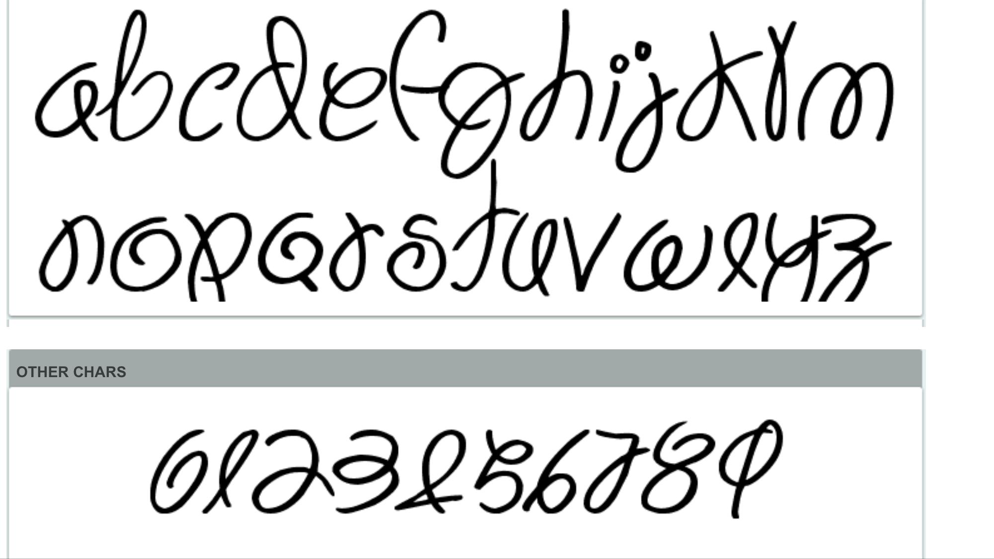syazalina83 font