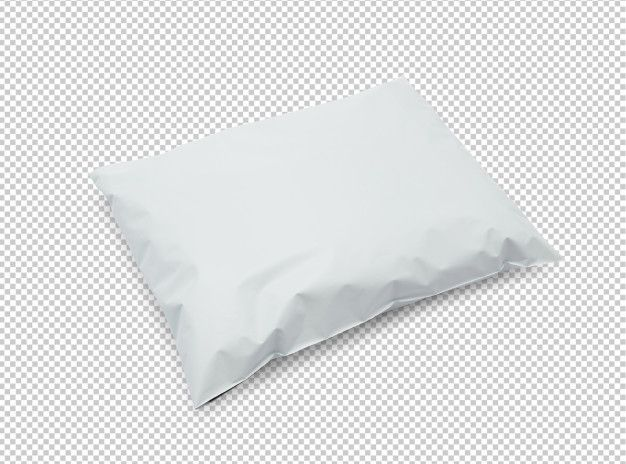 Download Blank White Plastic Bag Package Mockup Plastic Bag Packaging Bag Packaging Mockup