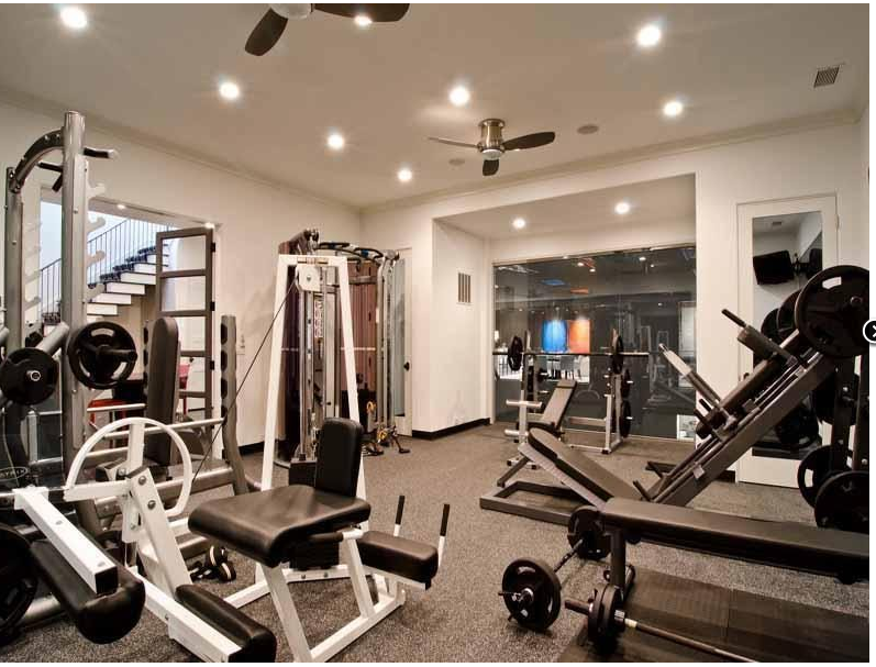 I would love an in home gym stuff at