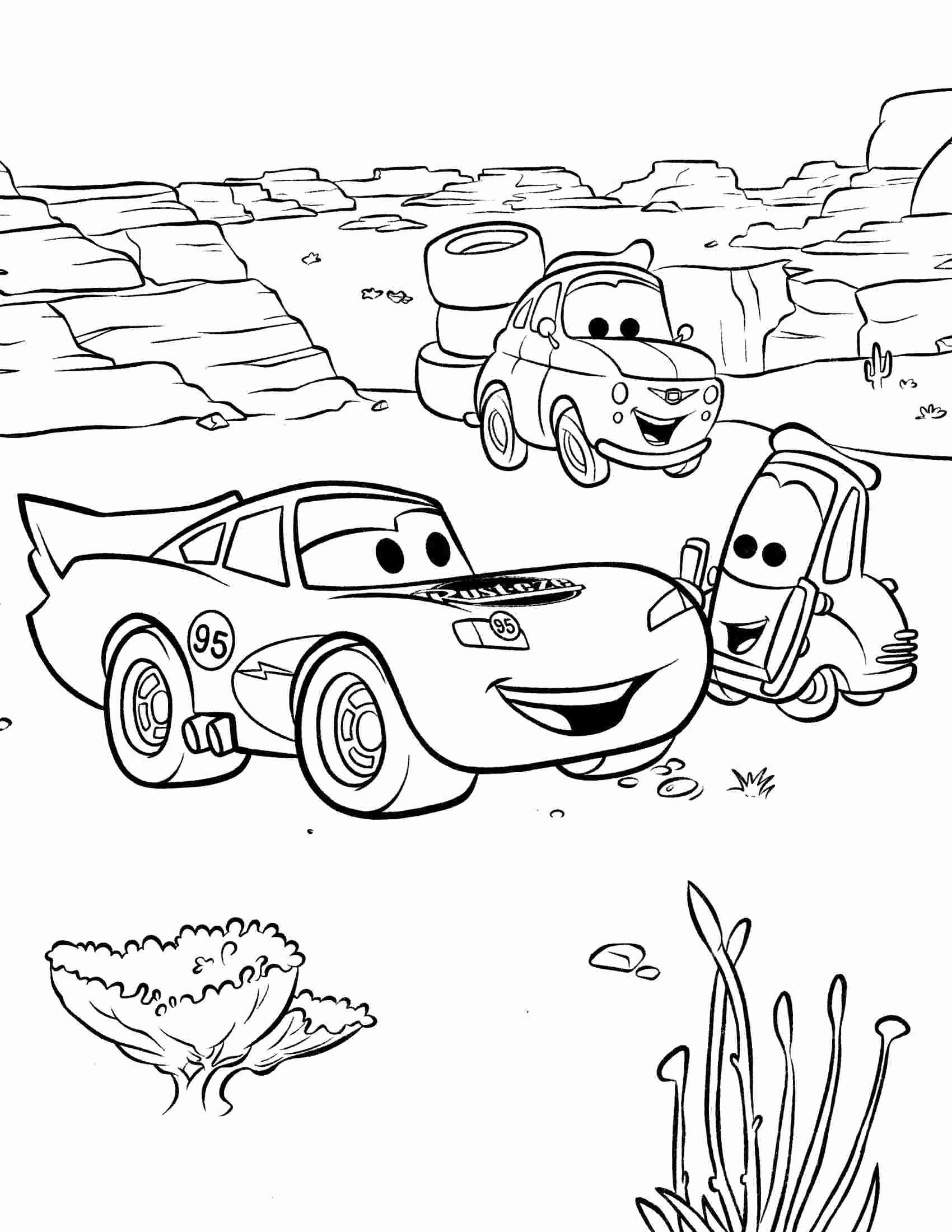 Disney Cars Coloring Book Fresh Coloring Pages Disney Cars Coloring Printable Lightning Disney Coloring Pages Cars Coloring Pages Disney Cars [ 2200 x 1700 Pixel ]