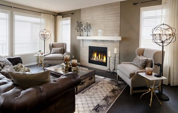 20 Ideen für beeindruckende Wohnzimmer Dekoration Inspiration - dekoration fürs wohnzimmer