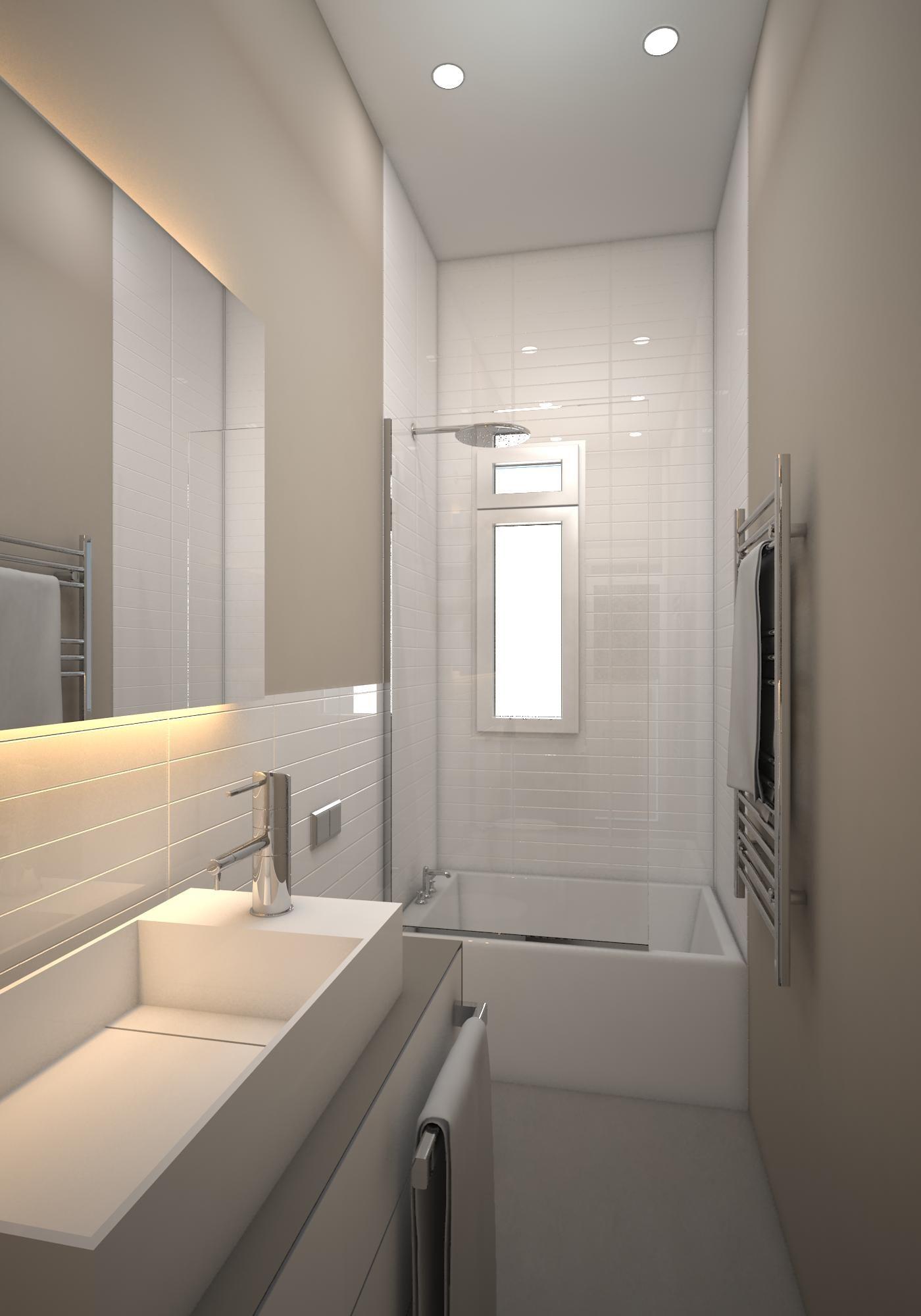 Diseño 3D de #reforma de baño en #Barcelona. #interiorismo | Baños ...