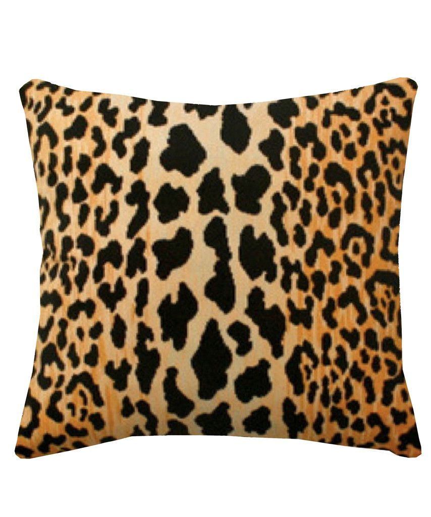 plush decorative lumbar index short accent black print animal throw and pillow thin cover img velvet leopard designer gold tiger