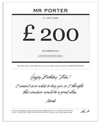 mr porter gift voucher - Google Search Graphic \ Paper Pinterest - how to make a voucher
