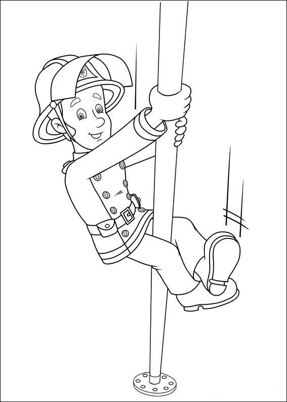 Tegninger til Farvelægning Brandmand Sam 40 | Brandman Sam ...