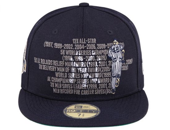 fe83b56a245 Mariano Rivera Stats New York Yankees 59Fifty Fitted Cap by NEW ERA x MLB