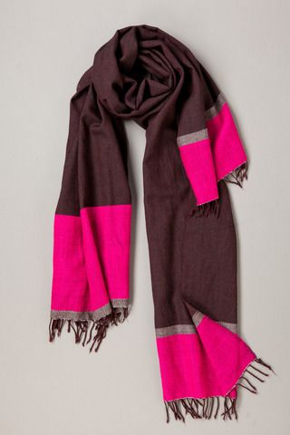 Stunning combination of pink, grey and burgundy!