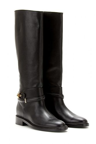 black riding boots with gold hardware | Shoe crush | Pinterest ...