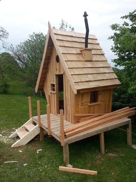 Shed Plans - Construction du0027une cabane en bois pour mes enfants (54